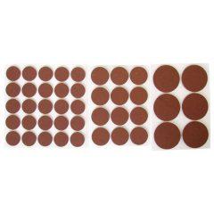 csúsztatófilc készlet bútorhoz 43db-os ; 20-38mm