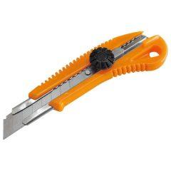 tapétavágó kés, 18mm, fémház, csavaros rögz. ; bliszteren, pótpenge: 9123A (10db) 9134 (horgas törhető-5db)