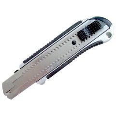 univerzális vágó kés, fémházas, ASSIST; 25mm, fémházas, gumírozott (6db/doboz)