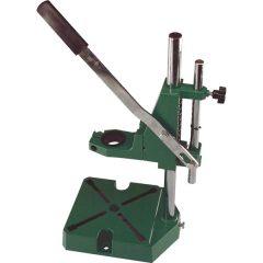 fúrógépállvány; fém, 38 és 43 mm befogás, teljes magasság: 420 mm, max. fúrási mélység: 60 mm