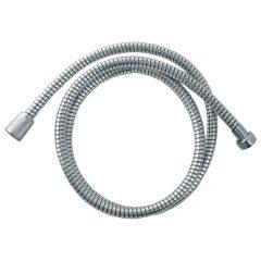 zuhanytömlő, ezüst PVC; 1,5m, KIFUTÓ helyette: 830224