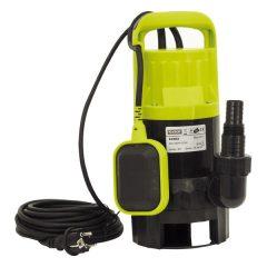 szennyvíz búvárszivattyú, úszókapcsolóval, 550W  Extol Craft, szállító teljesítmény: 12m3/h, max. száll. 6 m