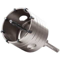 körkivágó téglához, SDS befogás; 79mm, M16×100mm hosszúságú szár
