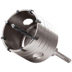 körkivágó téglához, SDS Plus befogás; 80 mm, M16×100mm hosszúságú szár