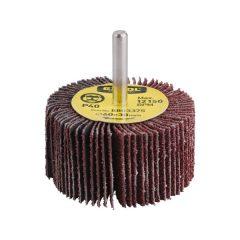 lamellás csiszoló, csapos, 6 mm befogás, Alu-Oxid, 60×30mm; P100, max.: 12.150 ford./perc