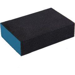 kézi csiszolóblokk, (stekli, csiszolószivacs) 100×70×25mm, P80, kemény, EVA