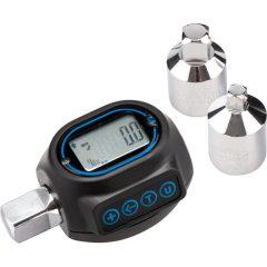 """digitális nyomaték adapter, hangjelzéssel, 1/2"""", 20-200Nm, adapterek: 1/4""""és 3/8"""""""
