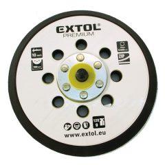 """tartalék gumi talp 8865038 rotációs csiszológéphez, 6""""/150mm, 8 db lyuk, tépőzáras, max. 12.000/perc, vastagság: 10mm"""