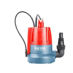 búvárszivattyú tiszta vízhez, úszókapcsolóval, 400W, szállító teljesítmény: 8m3/h, max. száll. 7 m