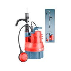 esővíz (hordóürítő) szivattyú tiszta vízhez, úszókapcsolóval, 350W, szállító teljesítmény: 5m3/h, max. száll. 11 m