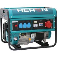 benzinmotoros áramfejlesztő, max 6000 VA, háromfázisú (EGM-60 AVR-3)