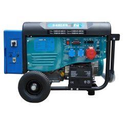 HERON 420 BLUE, háromfázisú, 6 kVA-es, távindítóval felszerelt áramfejlesztő