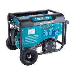 benzinmotoros áramfejlesztő, max 6800 VA, egyfázisú, önindítós