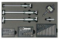 MIB Belső furatmérő készletben digitális mérőórával, 18-160 mm, (01027170)