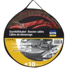 Indító kábel ledes 10mm2x2,8m