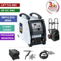 TIG 300 DC HF - WDB Pack (vízhűtővel, kocsival) *