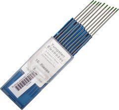 Wolfram elektróda 175x2,4mm zöld