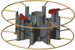 Tekercsorsó adapter KA 2