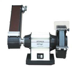 Optimum Kettős köszörű OPTIgrind GU 25S szalagcsiszolóval  (1,5kW/(400V)