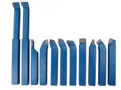 Eszterga kés szett- 12 mm-es-11 darabos