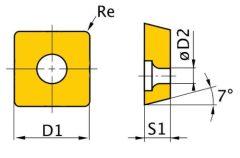 HM váltólapkák (5 db.)SNMG090304