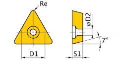 Váltólapka ISO TCMT070204