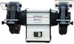 OPTI Grind GU 15 robosztus kettős köszörűgép fém feldolgozáshoz
