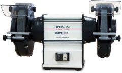 OPTI Grind GU 25 robosztus kettős köszörűgép fém feldolgozáshoz