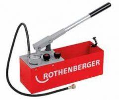 Rothenberger RP 50S és RP 50S INOX Precíziós próbapumpa a gyors nyomásellenőrzéshez 40 bar-ig