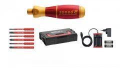 Wiha 590 T101 Speed-E Elektromos, 10 Részes Csavarhúzó Készlet, 1000 V Szigetelt