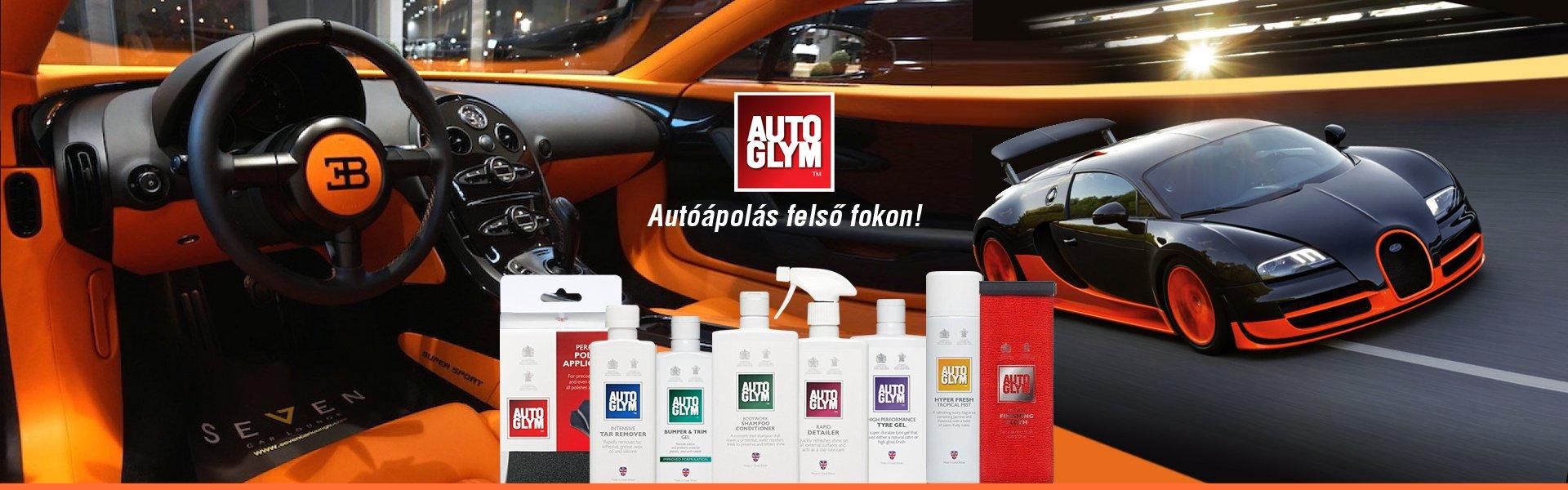 Autoglym autóápolási termékek